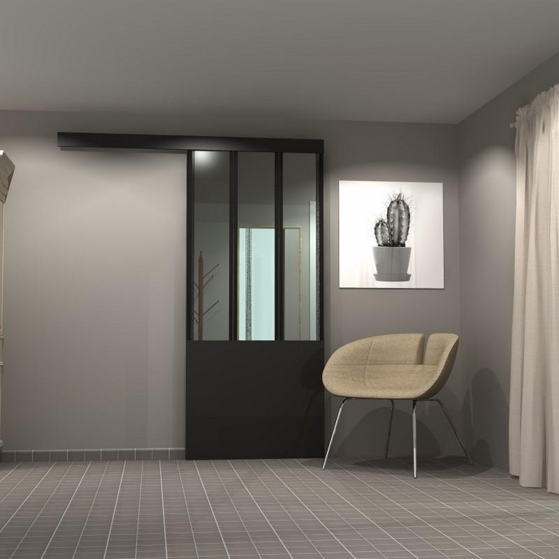 porte placard atelier porte de placard style atelier yj75. Black Bedroom Furniture Sets. Home Design Ideas